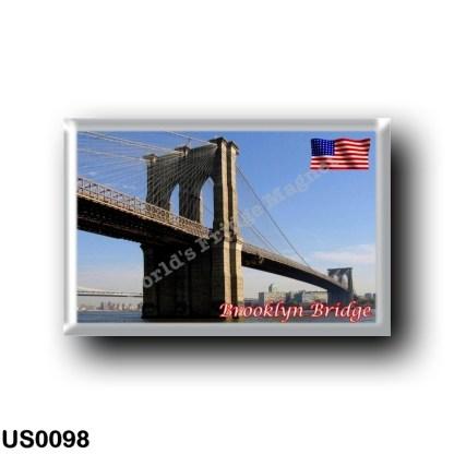 US0098 America - United States - New York City - Brooclyn Bridge