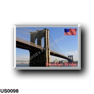 US0098 America - United States - New York City - Brooclyn Bridge