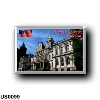 US0099 America - United States - New York City - City Hall