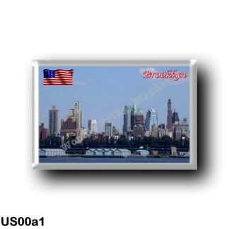 US00a1 America - United States - New York City - Downtown Brooclyn