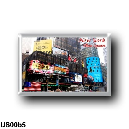 US00b5 America - United States - New York City - Time Square