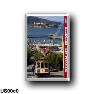 US00c0 America - United States - San Francisco - Alcatraz and Tram