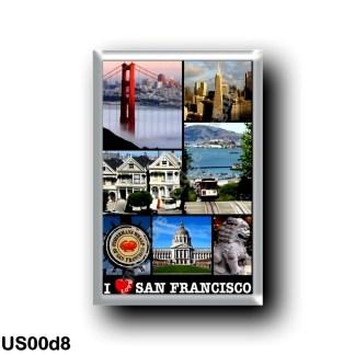 US00d8 America - United States - San Francisco - I Love