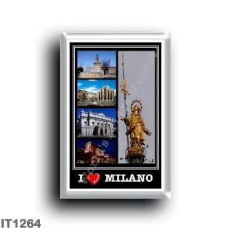 IT1264 Europe - Italy - Lombardy - Milan - I Love