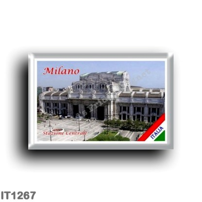 IT1267 Europe - Italy - Lombardy - Milan - Central Station