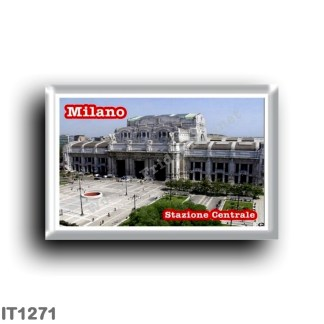 IT1271 Europe - Italy - Lombardy - Milan - Central station