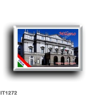IT1272 Europe - Italy - Lombardy - Milan - La Scala theater - Entrance