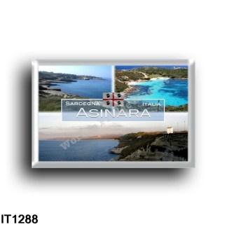 IT1288 Europe - Italy - Sardinia - Asinara island - Porto Torres - Capo Testa, Santa Teresa Gallura - Sabina Cove - Cala Sabina