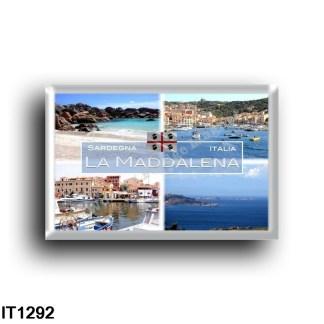IT1292 Europe - Italy - Sardinia - La Maddalena - Coticcio Cove - View - Caprera - Harbor - National Park