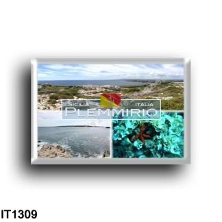 IT1309 Europa - Italia - Sicilia - Plemmirio - Ortigia - Fondali - Panorama - Terrauzza