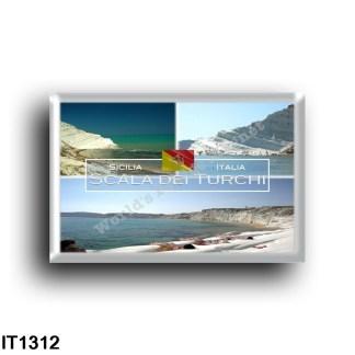 IT1312 Europe - Italy - Sicily - Scala dei Turchi - Panorama - details