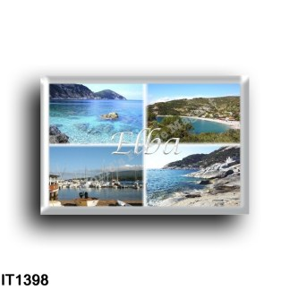 IT1398 Europa - Italia - Toscana - Isola d'Elba - Cavoli Beach - Chiessi - Enfola - Porto Azzurro - Panorama
