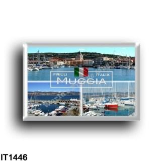 IT1446 Europe - Italy - Friuli Venezia Giulia - Muggia - View of Porto - Panorama - View