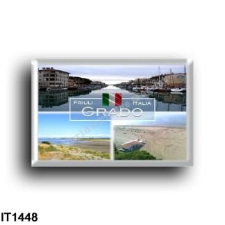 IT1448 Europe - Italy - Friuli Venezia Giulia - Grado - Grado Pineta - Porto Canale - Panorama