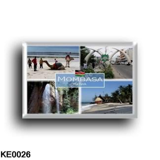 KE0026 Africa - Kenya - Mombasa - Diani Beach - Fort Jesus - Moi Avenue - Shimba hills - Sheldrick Falls - Panorama