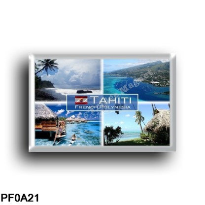 PF0A21 Oceania - French Polynesia - Tahiti - Beach - Pape'ete - Resort - Sea View - Panorama