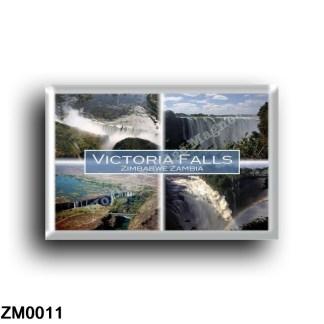 ZM0011 Africa - Zambia - Victoria Falls Zimbabwe