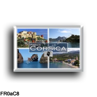 FR0aC8 Europe - France - Corse - Corsica. Calvi - Osani Port - Scandola - Ota