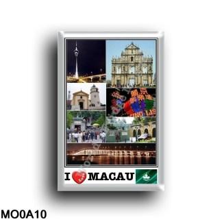 MO0a10 Asia - Macau - Tower - Casino' Lisboa - Ruins of Saint Paul s Church
