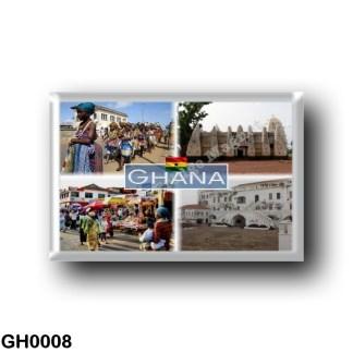 GH0008 Africa - Ghana - Larabanga - Ewe People in Ghana - Cape Coast Castle - Accra Market