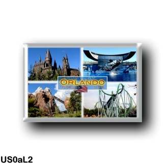 US0aL2 America - United States - Orlando - Florida - Sea World - Incredible Hulk Coaster