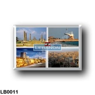 LB0011 Asia - Lebanon - Tyre - Saida International Stadium - Beirut, Rocky Raouché - Tripoli