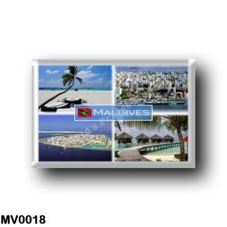 MV0018 Asia - Maldives - Malè Panorama - Main Beach - Resort - Sea View