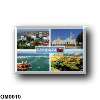 OM0010 Asia - Oman - Sultan's Palace in Zinzibar - Muscat Sultan Qaboos Grand Mosque - Sur Oman - Omani Desert