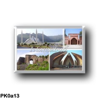 PK0a13 Asia - Pakistan - Islamabad - Faisal Mosque - Lal Masjid - Pakistan Monument Museum