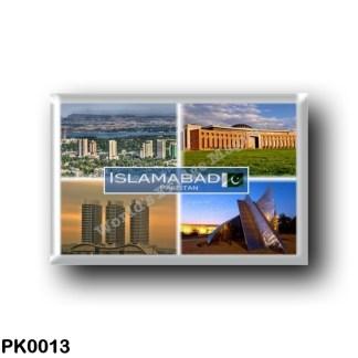 PK0013 Asia - Pakistan - Islamabad - Skyline - National University of Sciences and Technology - Mega Mall of Islamabad the Centa