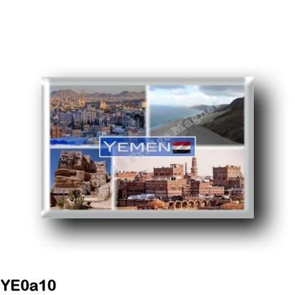 YE0a10 Asia - Yemen - Sana'a - Ar'ar - House in Sana'a - Panorama Sana'a