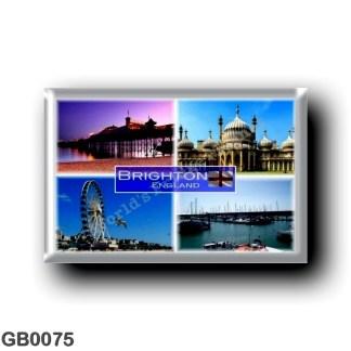 GB0075 Europe - England - Brighton - Royal Pavilion - Panorama Pier - Marina - Ferris Wheel