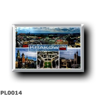 PL0014 Europe - Poland - Krakow - Saint Mary in Krakow - Wawel Cathedral - Nowa Huta - Old Town Market Square