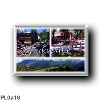 PL0a16 Europe - Poland - Zakopane - Tatra Mountains View
