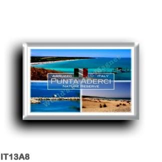 IT13A8 Europe - Italy - Abruzzo - Punta Aderci Nature Reserve - Vasto - Sea View - Beach Punta Penna - Chieti