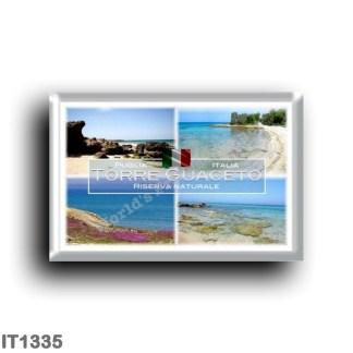IT1335 Europe - Italy - Puglia - Torre Guaceto - Carovigno - Brindisi - Cala Solitaria - Salento