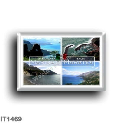 IT1469 Europe - Italy - Basilicata - Marina di Maratea - Santa Teresa Beach - Sea View - Port - La Costa