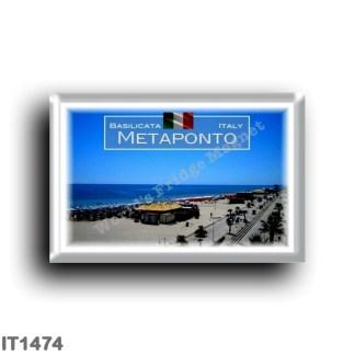 IT1474 Europe - Italy - Basilicata - Metaponto - Beach - Sea View