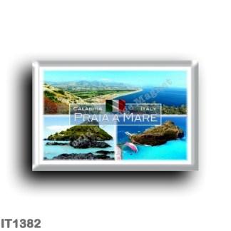 IT1382 Europe - Italy - Calabria - Praia a Mare - Dino Island - Panorama - Aerial view - Cosenza
