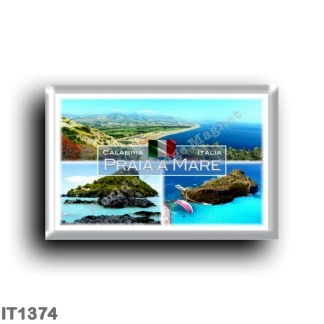 IT1374 Europe - Italy - Calabria - Praia a Mare - Dino Island - Panorama - Aeraial view - Cosenza