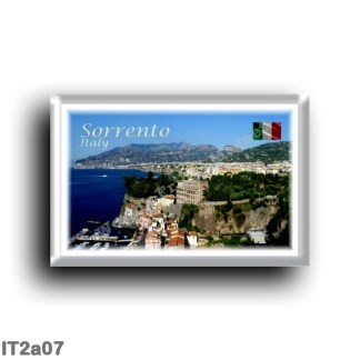 IT2a07 Europe - Italy - Campania - Sorrento Amalfi Coast - Panorama - Sea View - Marina