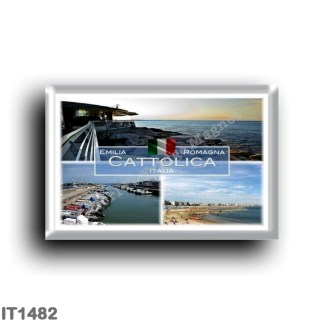 IT1482 Europe - Italy - Emilia Romagna - Cattolica - Sea View - Beach - Tourist Port