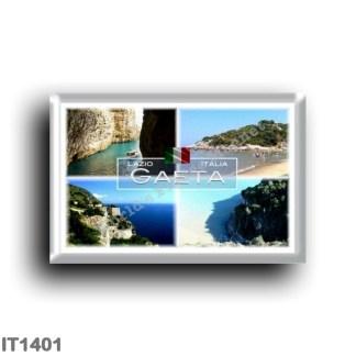 IT1401 Europe - Italy - Lazio - Gaeta - Grotta del Turco - Beach - Latina - Panorama