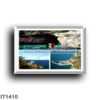 IT1410 Europe - Italy - Lazio - San Felice Circeo - Grotto of the Impiso - Harbor - Cervia Tower - Latina