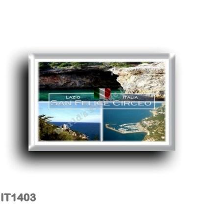 IT1403 Europe - Italy - Lazio - San Felice Circeo - Cave of the Impiso - harbor - Torre Cervia - Latina