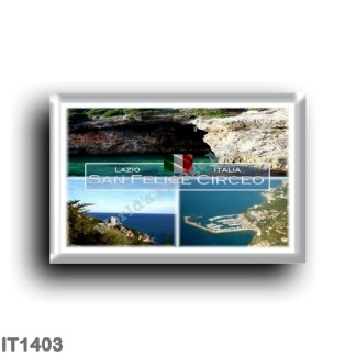 IT1403 Europe - Italy - Lazio - San Felice Circeo - Cave of the Impiso - harbor - Torre Cervia - Latina
