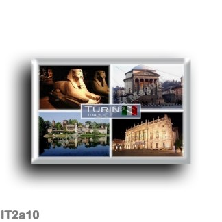 IT2a10 Europe - Italy - Piedmont - Turin - Egyptian Museum - Church of God's Great Mother - Madam Palace