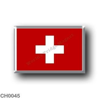CH0045 Europe - Switzerland - Swiss flag