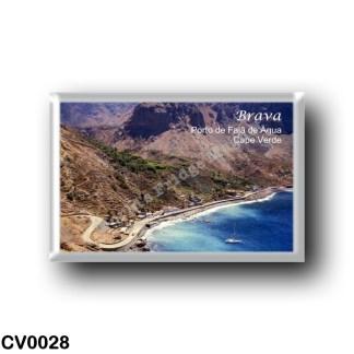 CV0028 Africa - Cape Verde - Brava - Porto de Fajã de Água