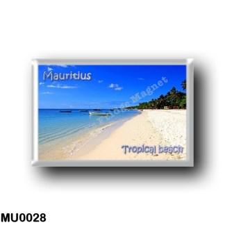 MU0028 Africa - Mauritius - Mauritius - Tropical beach